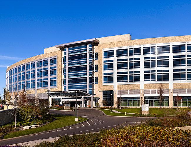 Central DuPage Hospital Bed Pavilion
