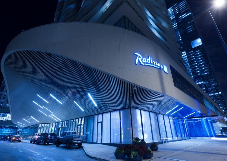 Raddison Blu Aqua Hotel